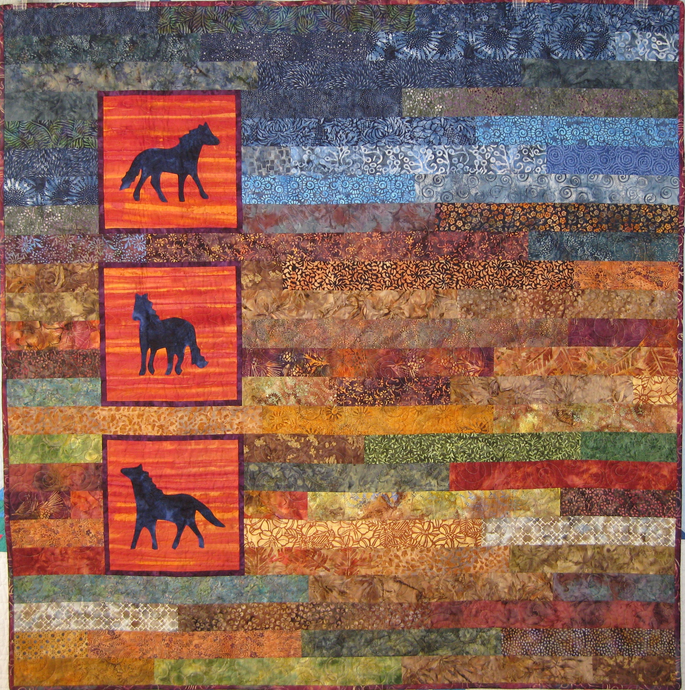 Horse Themed Quilts Sewmod