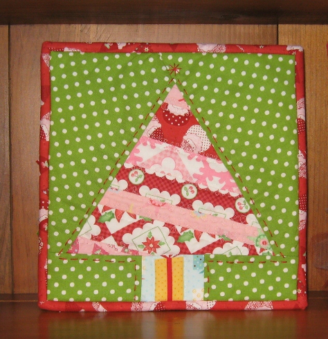 Christmas Free Paper Piecing