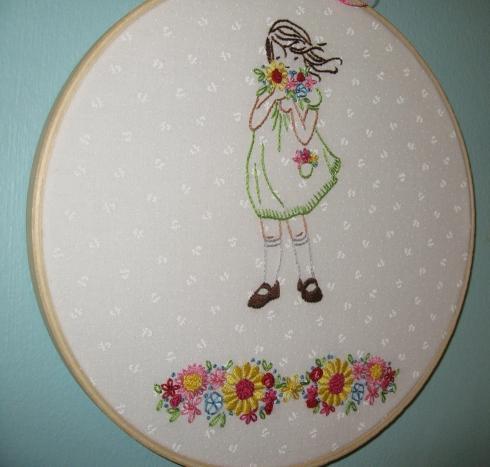 Sarah Jane Embroidery Sewmod