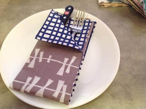 SewMod glimma napkins