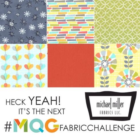 Michael miller quilt challenge SewMod MQG CLMQG