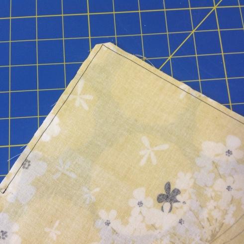 SewMod diy cloth napkin tutorial