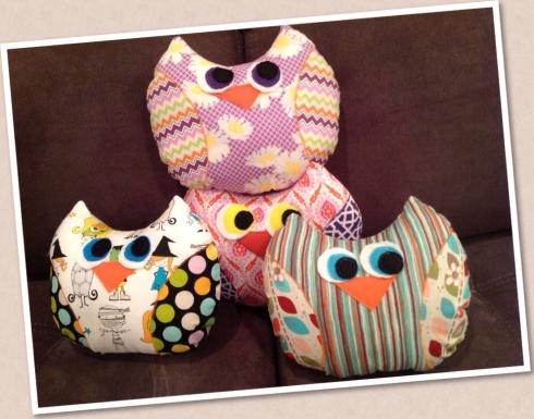 SewMod owl kits