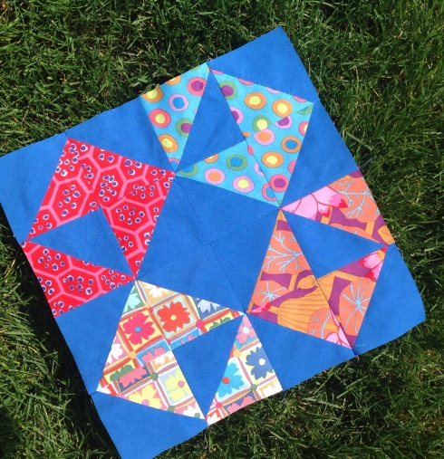 Modern movement quilt block sewmod