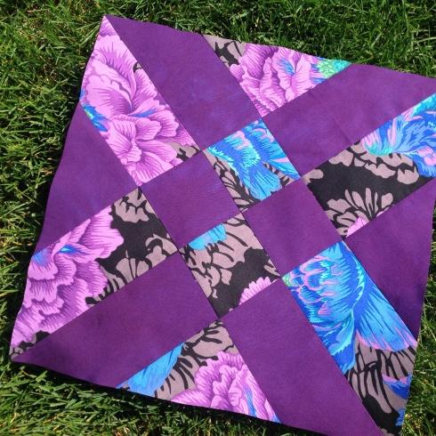 SewMod Anita's arrowhead quilt block