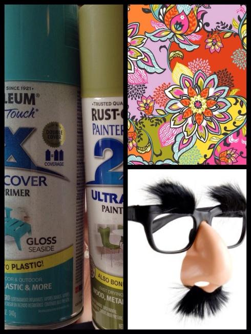 SewMod redo spray paint