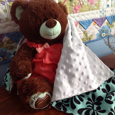 Build a bear blankie