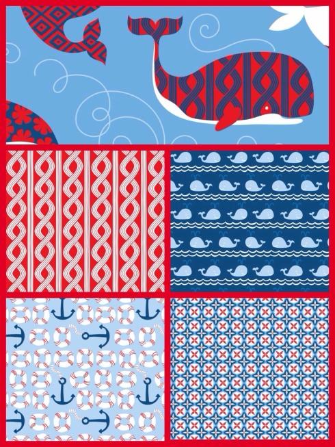 SewMod true blue fabrics