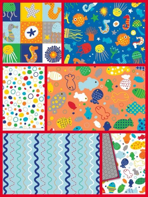 SewMod in the ocean fabrics