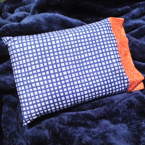 SewMod quick pillowcase tutorial