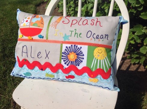 Splash! In The Ocean SewMod