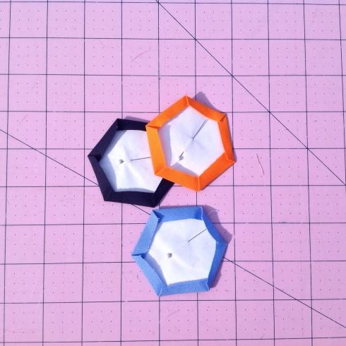 SewMod molecular hexies