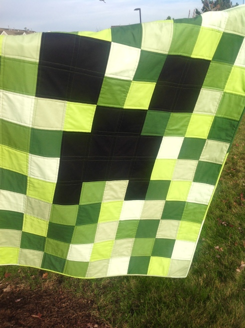 minecraft quilt tutorail