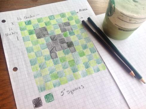 minecraft quilt tutorial
