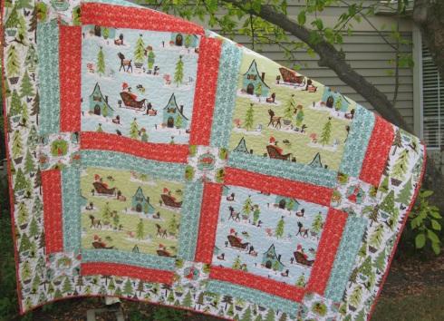 Alpine Wonderland quilt