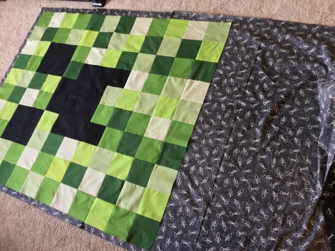 SewMod minecraft quilt tutorial