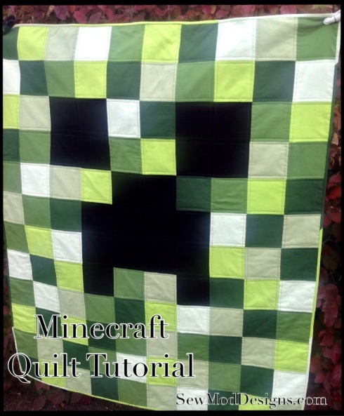 minecraft quilt tutorial