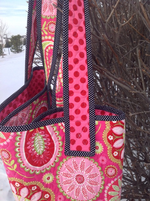 Sophie quilted bag
