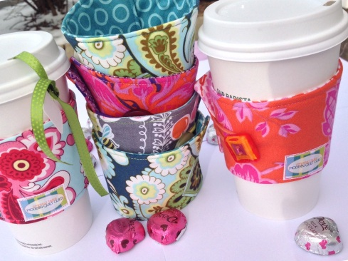 Coffee cup cozy tutorial