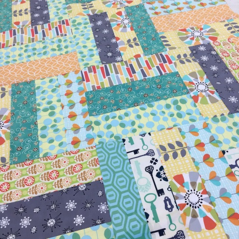 Friday Finishes charity quilt