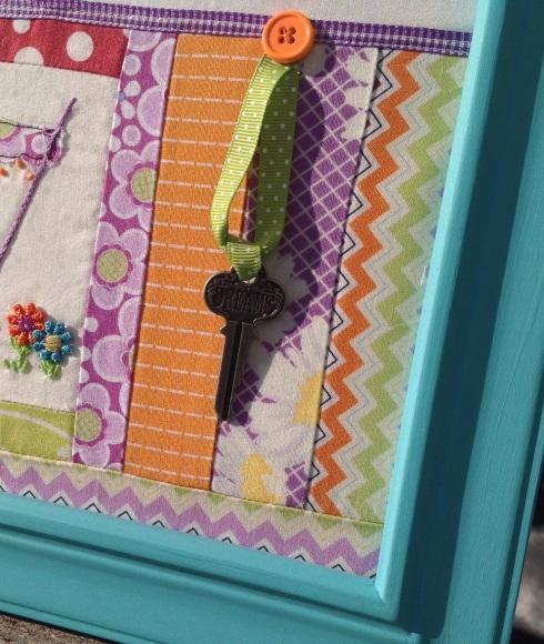 Framed camper quilt