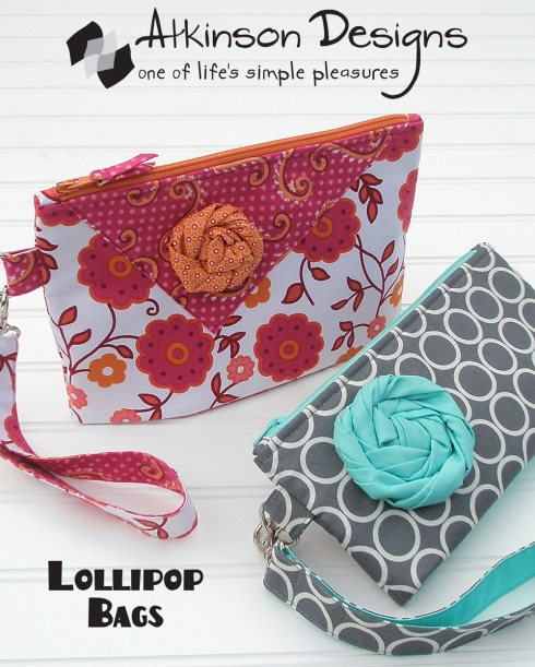 Lollipop clutch pattern sewmoddesigns