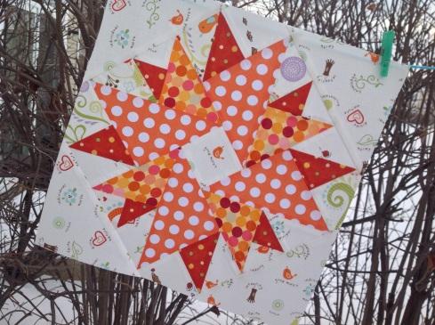 CLMQG star block lottery SewMod
