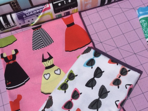 SewMod retro fabrics Geekly chic