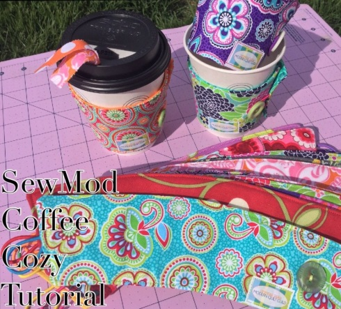 Coffee Cozy Tutorial SewMod