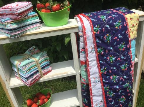 Vintage market quilt kits