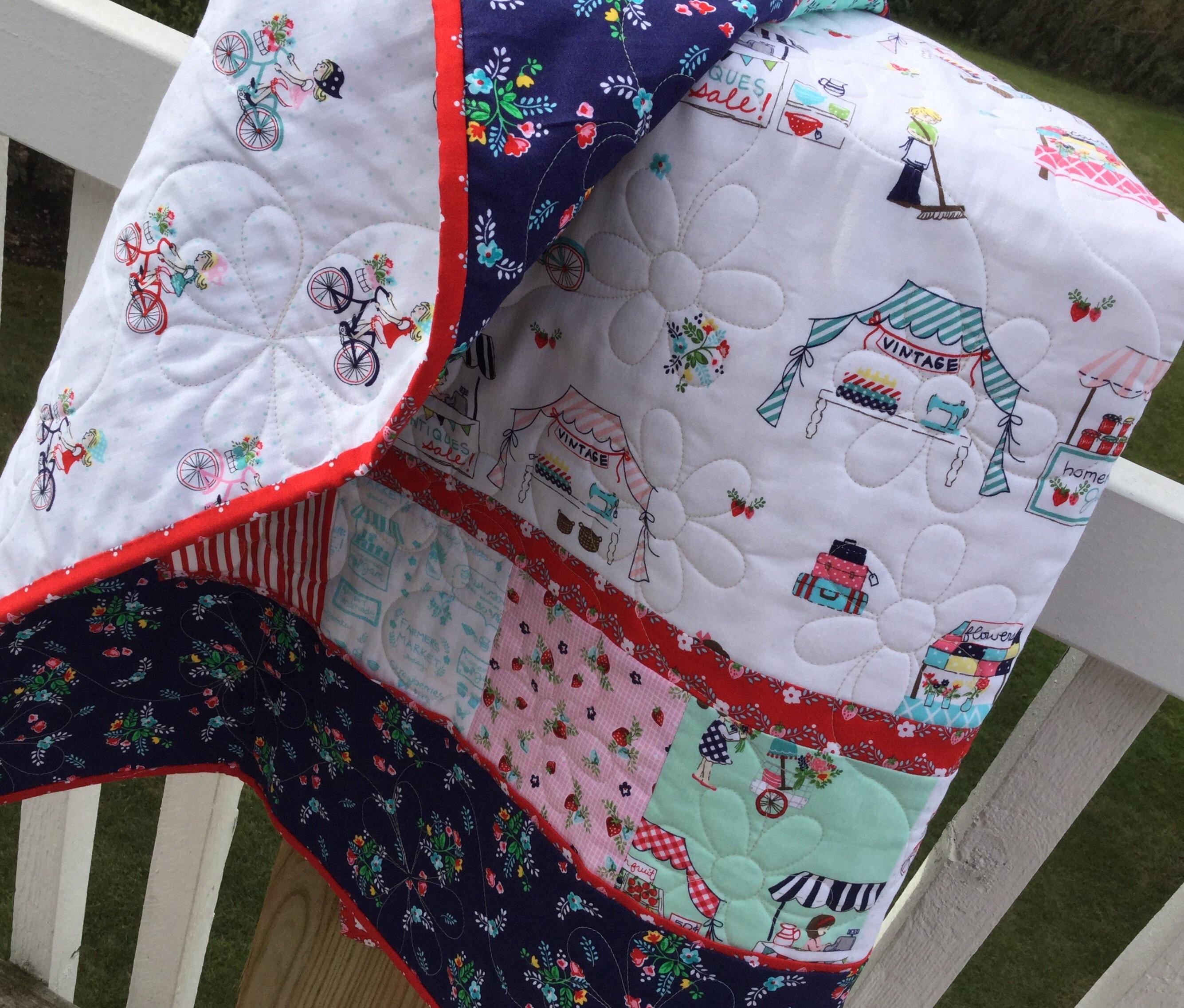 Backyard baby quilt kits sewmod - Quilt rits ...