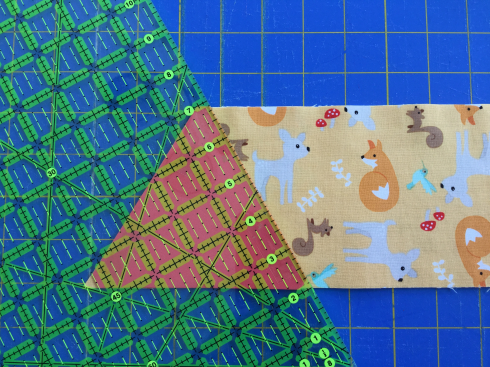 SewMod Equilateral Quilt tutorial
