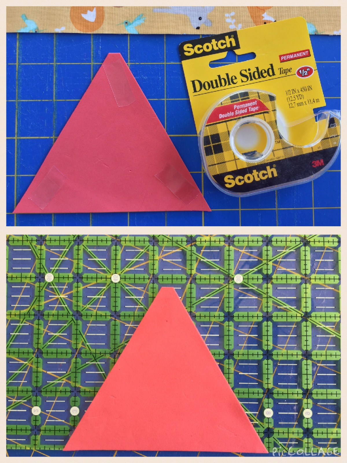 Good Natured Equilateral Quilt Tutorial Sewmod