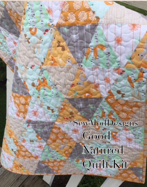 Good natured quilt kit