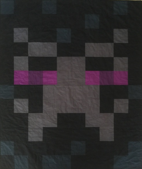SewMod Enderman MineCraft Quilt Tutorial