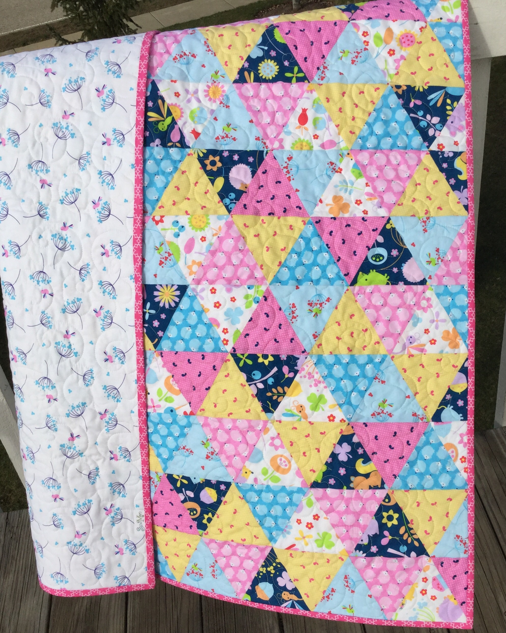 Quick and easy baby quilt kits sewmod - Quilt rits ...