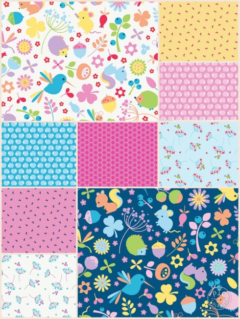 Wildflower Meadow fabric