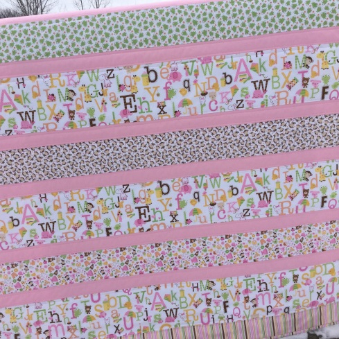 Sweet baby girl quilt kits