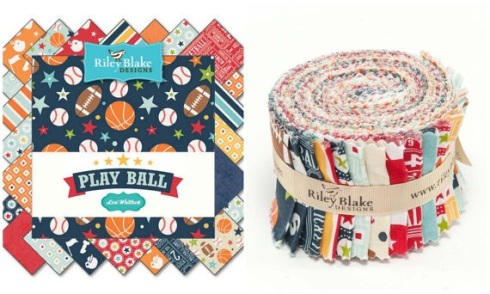 Play Ball baby quilt kits