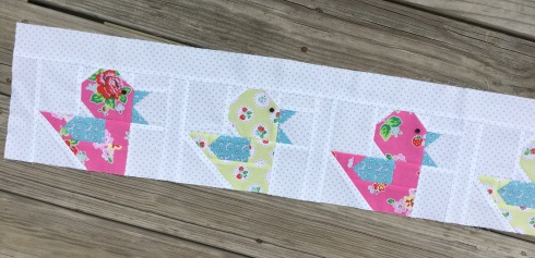 Pretty playtime quilt along