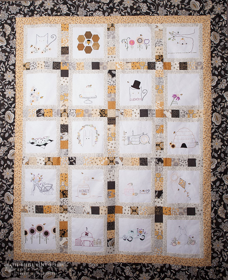 Moda Bake Shop S Bee Utiful Quilt Along Sewmod