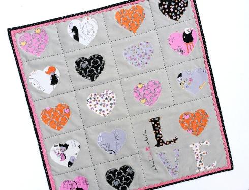 Zombie Love Mini Quilt